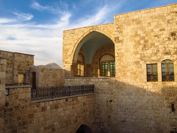 In Arabe: restored Ottoman castle