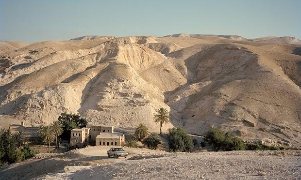 The Wadi Kelt canyon. Photograph: Maja Daniels