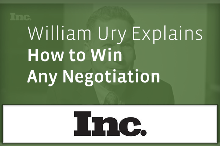 how to win a negotiation
