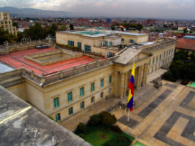 Media credit: Miguel Olaya via Wikimedia Casa de Nariño, the official home and principal workplace of the President of Colombia.