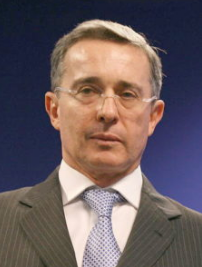 Media credit: Center for American Progress via Wikimedia Commons Former Colombian President Álvaro Uribe led a strong campaign against ratifying the peace treaty between the Colombian government and the nation's largest armed rebel group, FARC.