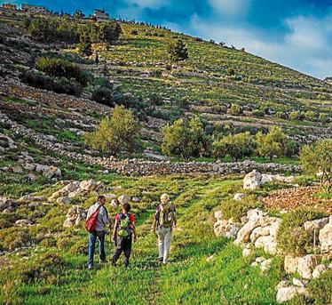 Una imagen del Camino de Abraham. Foto: Masar Ibrahim